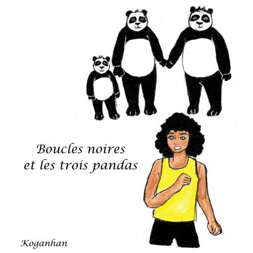 Boucles noires et les trois pandas